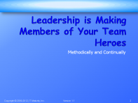 Leadership Training Slides